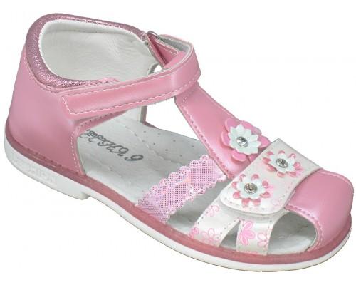 Сандалии детские для девочек «Песня» розовые