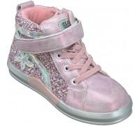 Ботинки демисезонные детские для девочек «Песня-Paliament» розовые