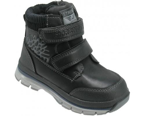 Ботинки зимние детские «Песня» черные